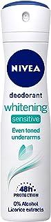 NIVEA Women Deodorant, Whitening Sensitive, for 48h Protection, 150 ml