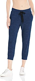Amazon Essentials Brushed Tech Stretch Crop Jogger Pant Donna