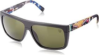 Electric Black Top James Haunt 2.0 Square Sunglasses, 58 mm