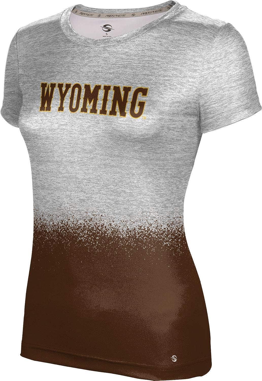ProSphere University of Wyoming Girls' Performance T-Shirt (Spray Over)