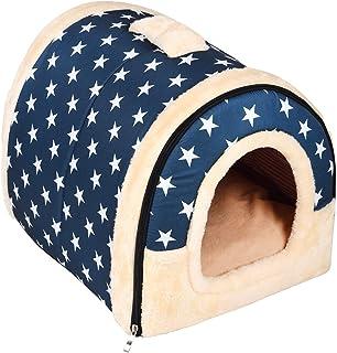 Enko 2 en 1 Cómodo Casa para Mascotas y Sofá, Interiores y