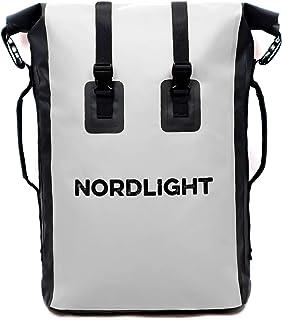Nordlight Drybag 30 l rulle topp – med vadderad bärrem, Dry Bag ryggsäck för vattensport, cykelryggsäck, kurirryggsäck, tr...