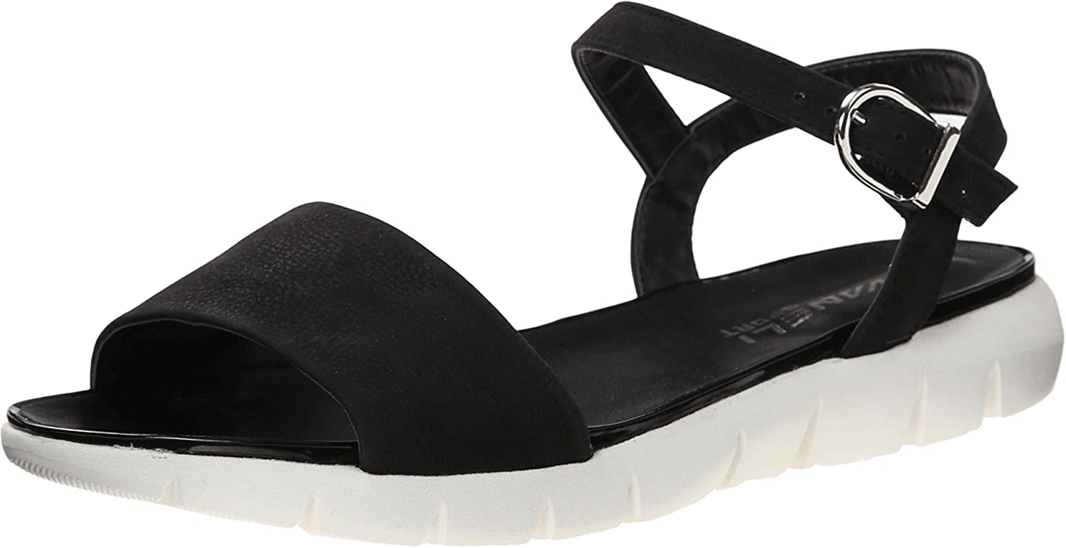 VANELi Womens Kathie Open Toe Casual Ankle Strap Sandals