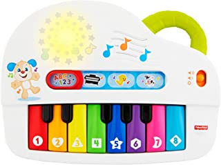 Fisher-Price Silly Sounds Light-Up Piano Toy - English Speaking GFK04