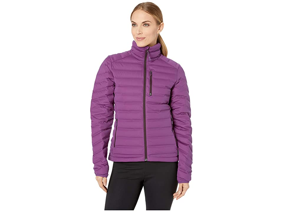 Mountain Hardwear StretchDown Jacket (Cosmos Purple) Women