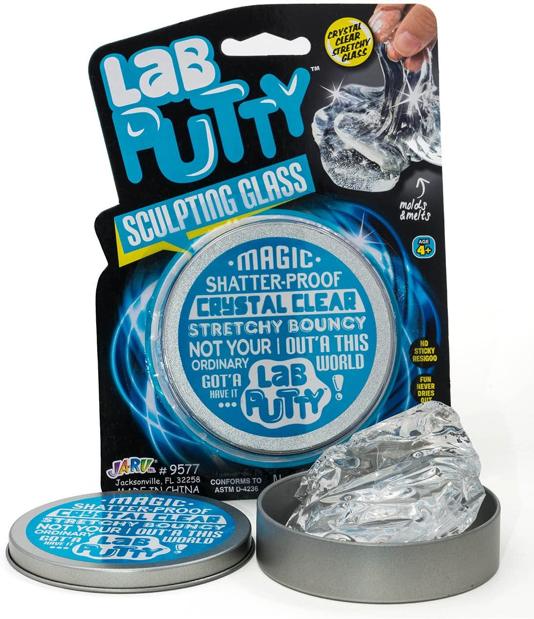 Lab Putty Ranking TOP8 Crystal Clear Glass Game Transparen by Direct stock discount 1 Pack JA-RU.