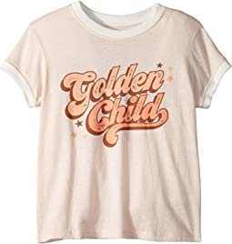Golden Child Ringer Tee (Toddler/Little Kids/Big Kids)