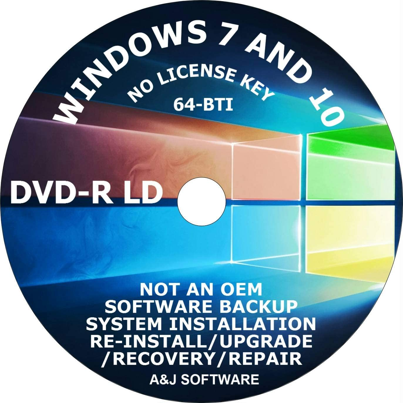 WINDOWS 7 10 DVD SUITE SET. RECOVERY 64-BIT FIX Outstanding FACTORY Special Campaign FRESH RE