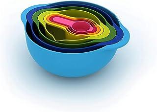 Joseph Joseph Nest 8 Kit de préparation alimentaire Bleu 8 pièces