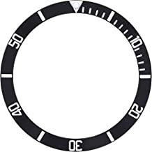 BEZEL INSERT FOR 41MM TUDOR HERITAGE BLACK BAY 79230R/79230N 79220 WATCH BLACK