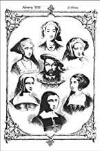 "Henry VIII 6 Wives: Henry VIII 6 Wives - Composition Notebook: 100 Pages, College Ruled, 6"" x 9"" (Great Gift for Friends, ..."