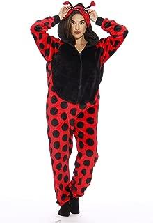 Just Love Lady Bug Adult Onesie Pajamas