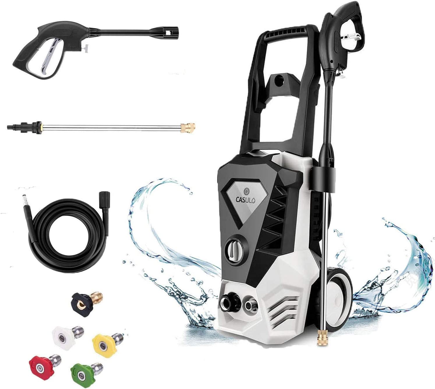 DREAMVAN Electric Max 79% OFF Pressure Washer 3500PSI High 2.6GPM Ranking TOP4 Wash Power