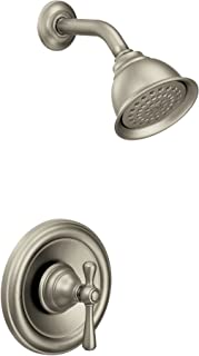 Moen T3112BN Kingsley Moentrol Volume Control Shower Trim Kit, Valve Required, Brushed Nickel