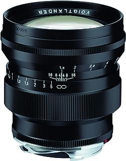 Voigtlander 75mm f/1.5 Nokton Aspherical Lens - VM Leica M Mount Lens - Black