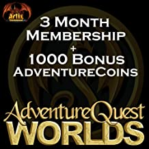 3 Month Membership: AdventureQuest Worlds [Instant Access]