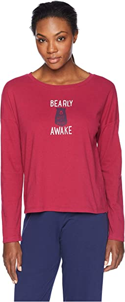 Snuggle Up Relaxed Sleep Long Sleeve
