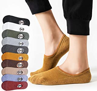 BECASO(ビーカソ) 靴下 メンズ フットカバー くるぶしソックス くるぶし靴下 6足セット 浅履き 脱げない 綿 男女兼用 24-28cm