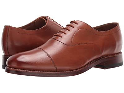 Bostonian Rhodes Cap (Tan Leather) Men
