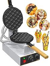 WantJoin Machine à Gaufres aux Oeufs Bubble Waffle Gaufrier 1400W Électrique Appareil à Beignet Professionnel Waffle Egg C...
