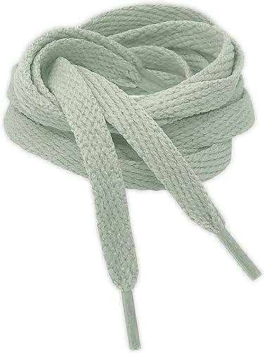 Kilter Lacets de Couleur Plats Haute Qualité pour Baskets, Chaussures de Sport et Bottes - Longeurs de 90-140 cm