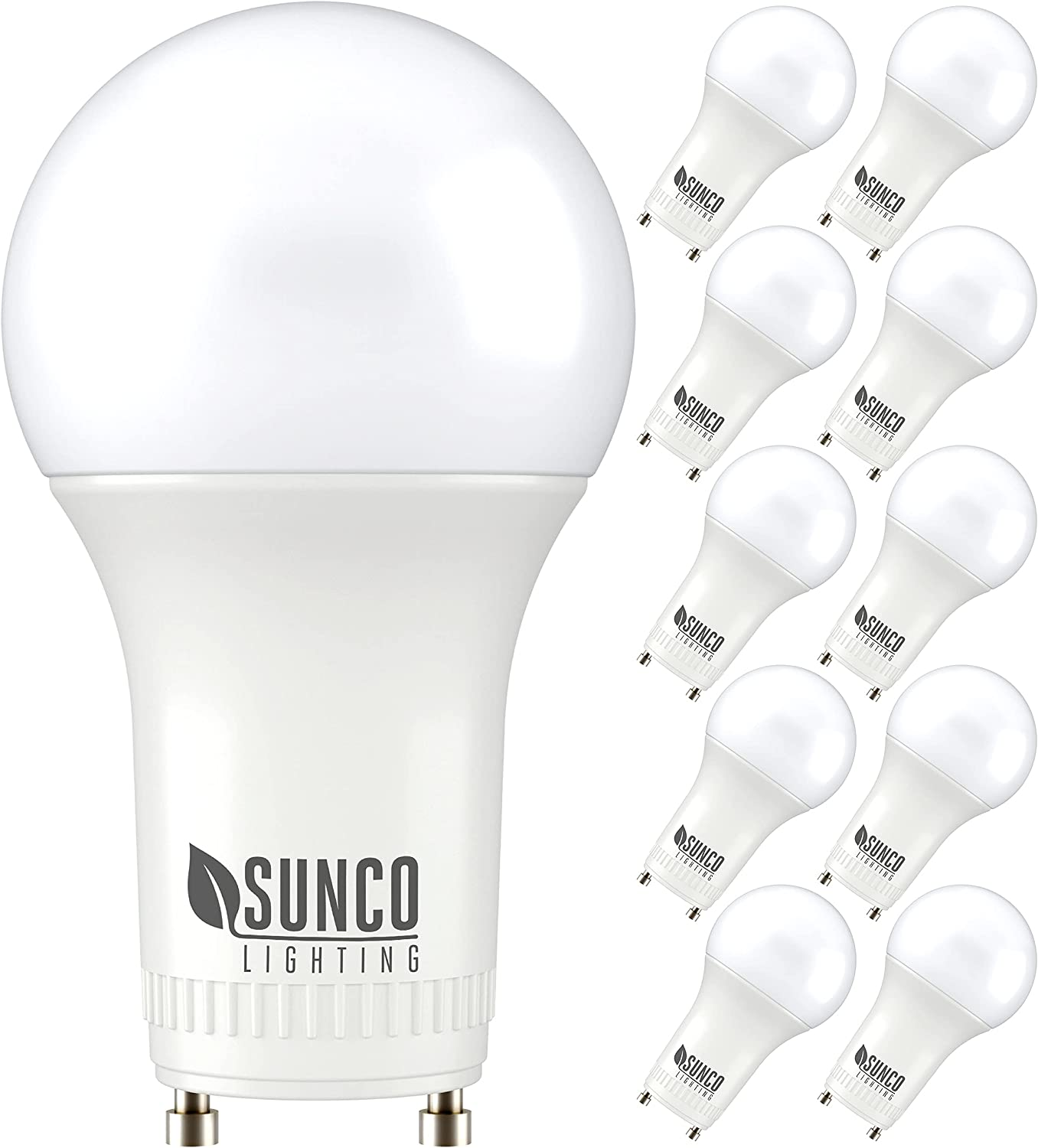 Sunco Lighting 10 Pack A19 LED Replacement 9W=60W CFL 2021 autumn online shopping and winter new Bulb 500