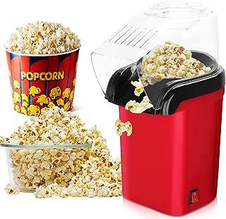IVEOPPE Machine à Pop Corn à Air Chaud Pour la Préparation de Grains de Maïs, 3 Minutes Pop Corn, Sans Graisse et Sain Pou...