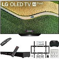 Deals on LG OLED65B9PUA 65-inch 4K HDR OLED TV + Soundbar Bundle
