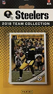 dd507fc2705 Pittsburgh Steelers 2018 Donruss Factory Sealed NFL Football Complete Mint  14 Card Team Set with Ben