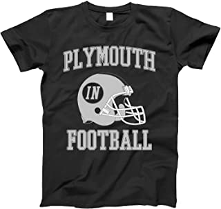 Vintage Football City Plymouth Shirt for State Indiana with in on Retro Helmet Style