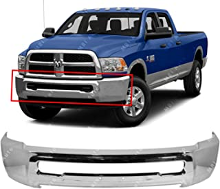 MBI AUTO - Chrome, Steel Front Bumper Face Bar for 2010-2018 Dodge RAM 2500 3500 Pickup 10-17, CH1002391