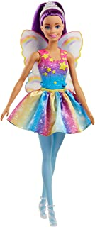 Barbie Dreamtopia Rainbow Cove Fairy Doll, Purple