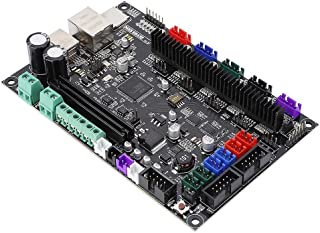 Wendry 3D Printer Motherboard, Engraving Machine Motherboard, 3D Printer Controller Board 32bit Mainboard MKS SBASE V1.3 Open Source Firmware Accessory