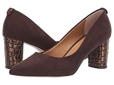 J. Renee Vaneeta (Chocolate Suede) High Heels