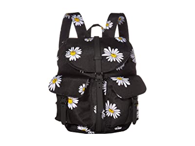 Herschel Supply Co. Dawson Small (Daisy Black) Backpack Bags