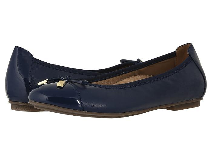 VIONIC  Minna (Navy) Womens Flat Shoes
