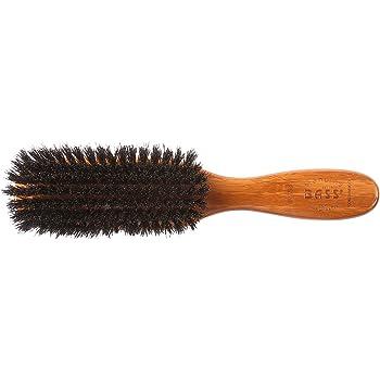 Classic Men's Club (Soft) Wild Boar Bristles Light Wood or Acrylic Handle Gentle Bass Brushes (1 Brush)