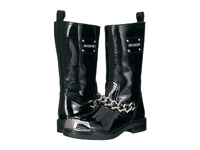 LOVE Moschino Heart Cap Boots (Black) Women