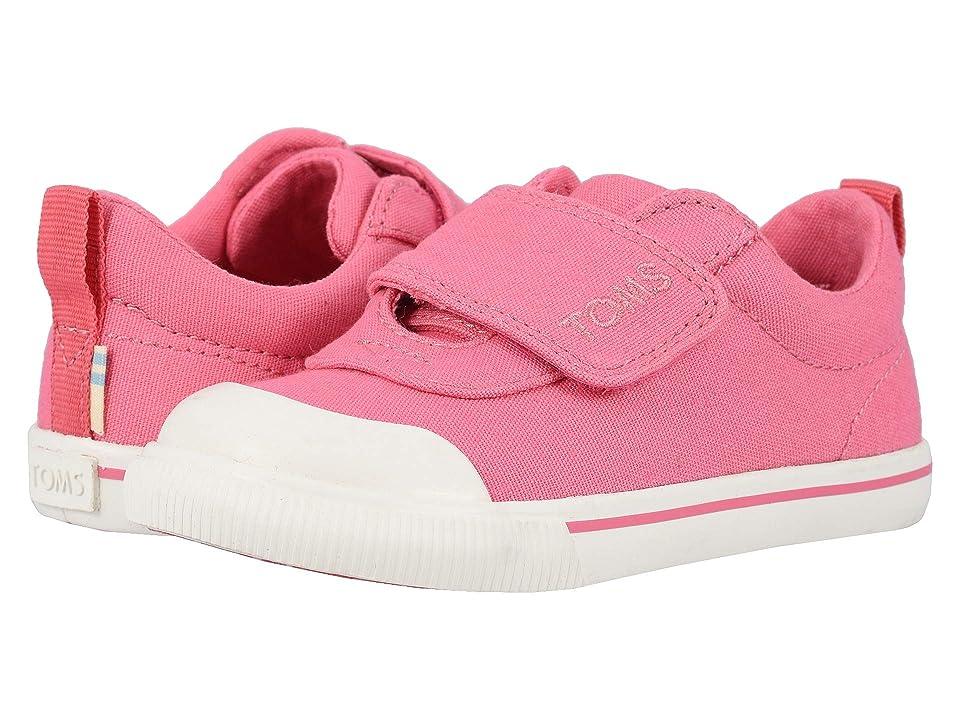 TOMS Kids Doheny (Toddler/Little Kid) (Bubblegum Pink Canvas) Girl