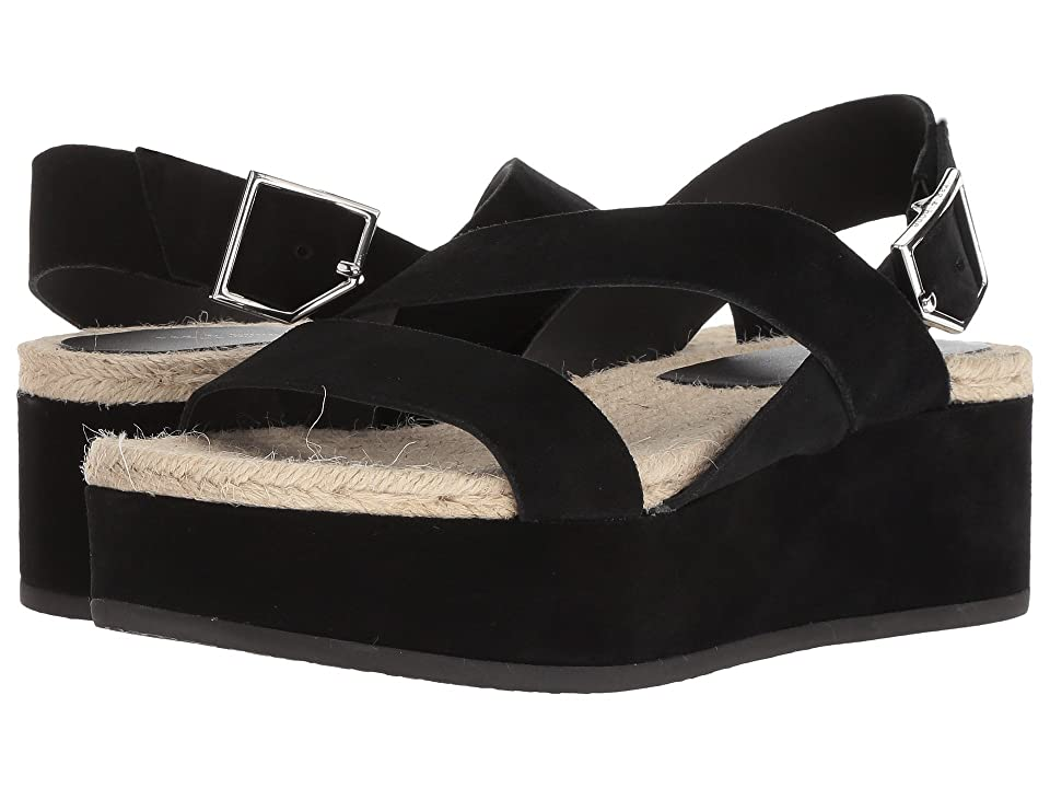 rag & bone Megan (Black Suede) Women