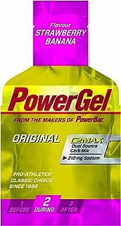 Powerbar PowerGel jordgubbe-banan, 6-pack (6 x 41 g)