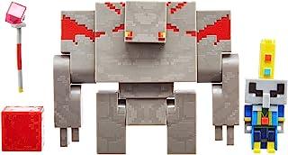 """Minecraft Dungeons 3.25"""" Arch Illager & Redstone Golem"""