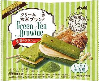 アサヒグループ食品 クリーム玄米ブラン抹茶のブラウニー 70g×6袋