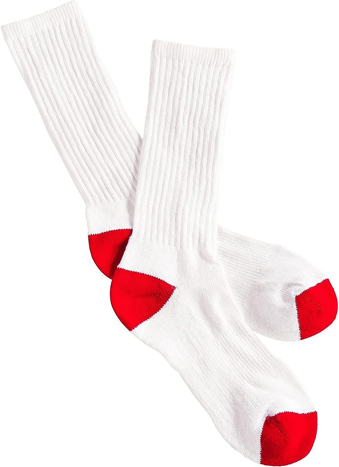 overseas Boot Doctor Boys' Over Max 53% OFF The Calf Socks Large Pack White 3