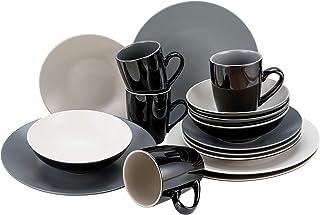 CreaTable, 22457, Very COOL series, combination service 16 pieces, Stoneware