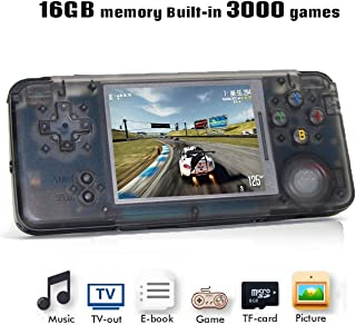 Anbernic Console de Jeu Portable, Console de Jeu rétro 3 Pouces HD écran 3000 Console De Jeux Classique ,2020 Portable Jeu...