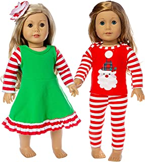Best baby doll christmas clothes Reviews
