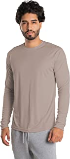 Men's UPF 50+ UV Sun Protection Long Sleeve Performance T-Shirt for Sports and Outdoor Lifestyle