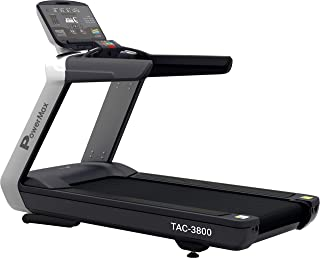 PowerMax Fitness Unisex Adult TAC-3800 6 HP Motorized Commercial Treadmill, with Free Installation, 3 Years Motor Warranty...
