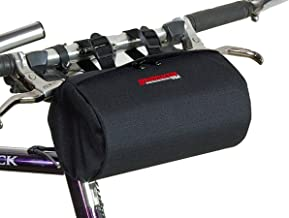 Bushwhacker Cody Black - Bicycle Handlebar & Seat Bag Cycling Pack Bike Cylinder Saddle Bag Rear Front Accessories Frame